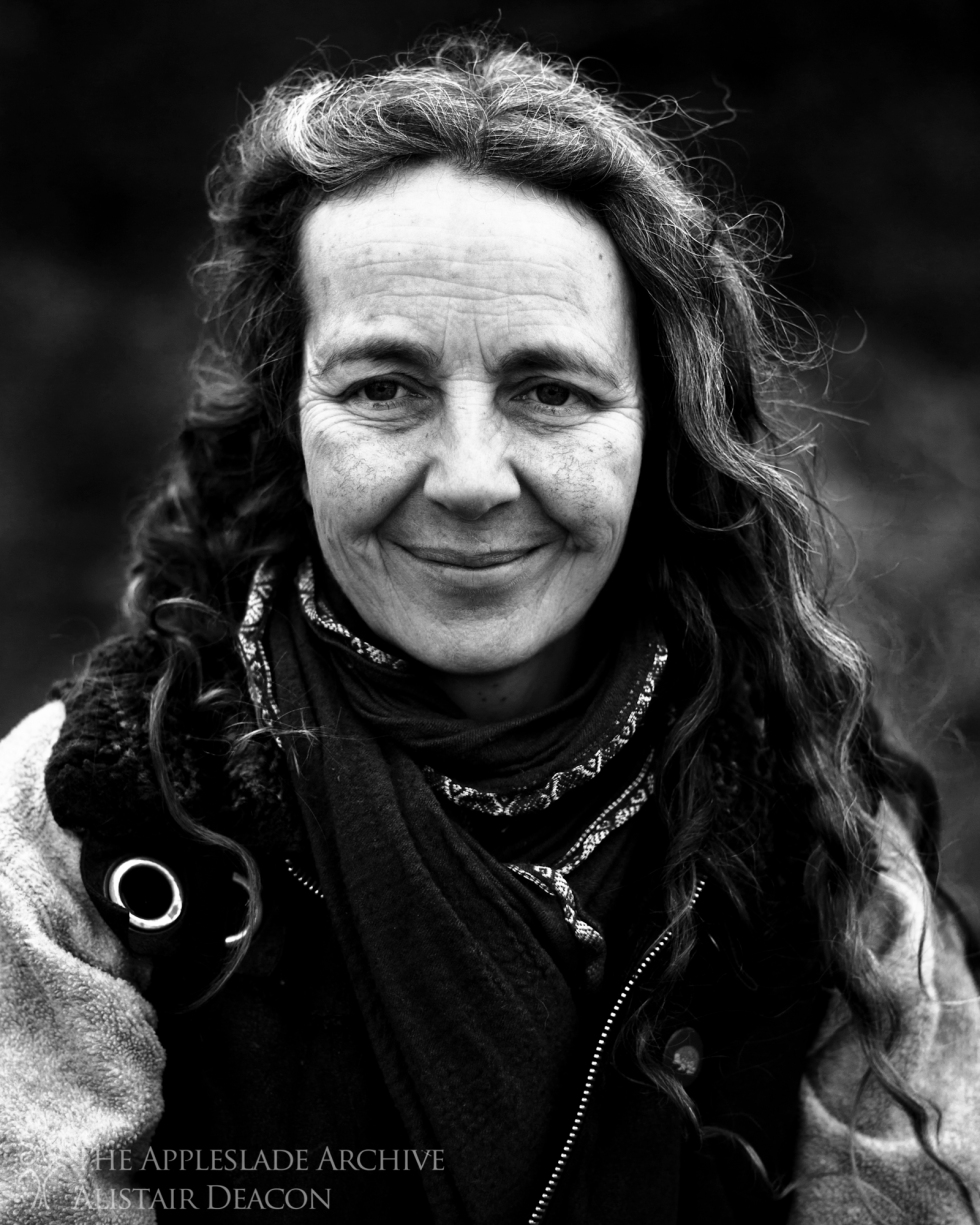 A portrait of Shari, a horse whisperer who lives near the New Forest, Dorset, 8th Feb 2013
