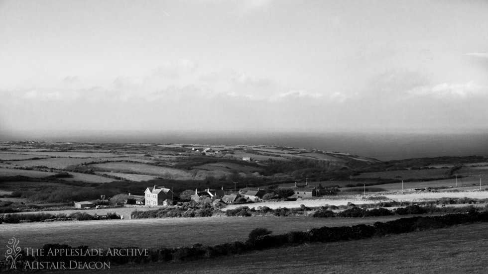 A farm near St. Ives, Cornwall, 18th Feb 2013