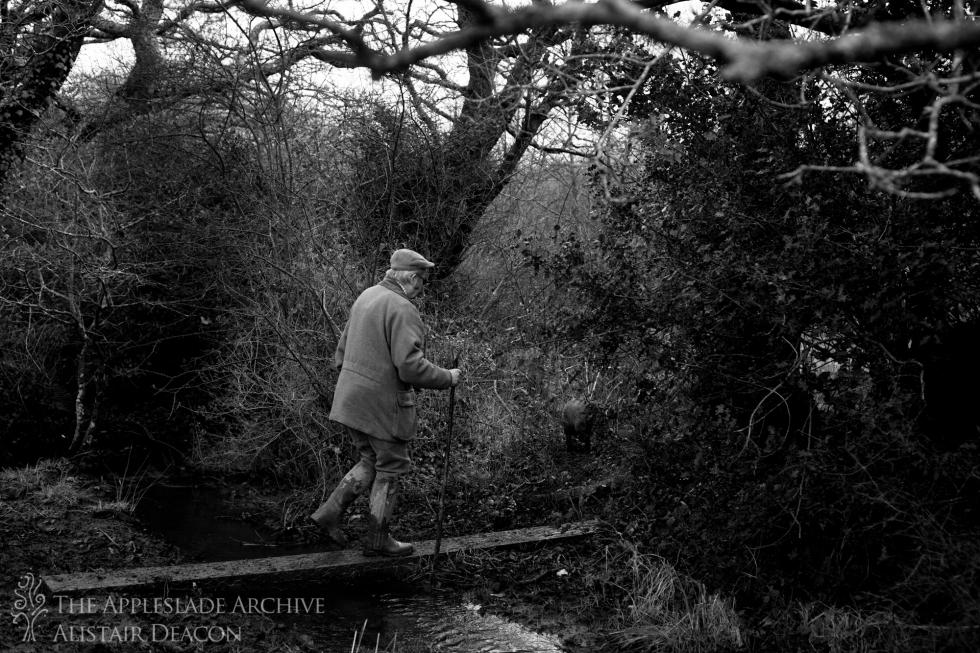 Colin Parker beating, St. Enoder, Cornwall, January 2014